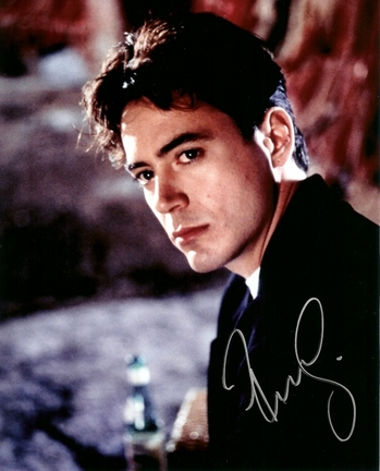 "Robert Downey Jr. Autographed 8"" x 10"" Photograph (Unframed)"