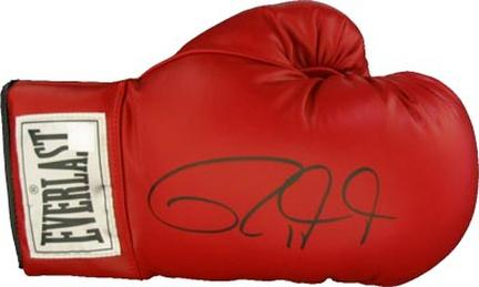 Roy Jones Jr. Autographed Everlast Boxing Glove
