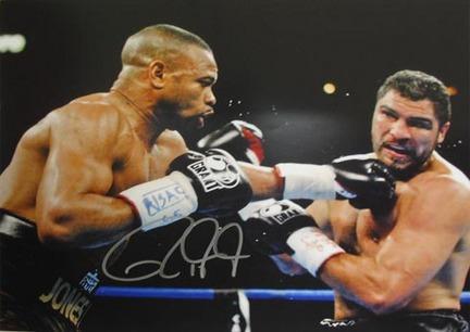"Roy Jones Jr. Autographed ""vs. John Ruiz"" 16"" x 20"" Photograph (Unframed)"