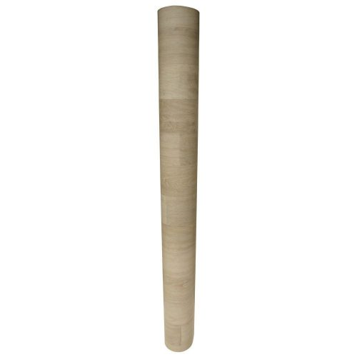 Rubber Cal 03-250-10 Terra-Flex Oak Premium Rubber Flooring Rolls Colonial Oak - 2 mm x 5 ft. x 10 ft. Roll