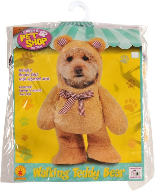 Rubies Pet Shop Boutique 580329XS Extra Small Walking Teddy Bear