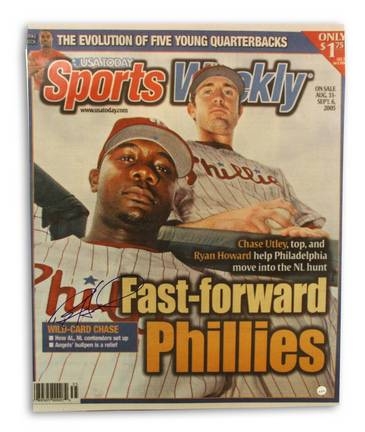 "Ryan Howard Philadelphia Phillies Autographed Sports Weekly 16"" x 20"" Unframed Photograph"