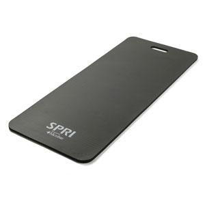 SPRI Thick Foam Mat Black - 20 x 48 x 0.5 in.