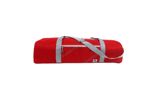 SailorBags 350RG Chesapeake Yoga Bag Red with Grey Trim
