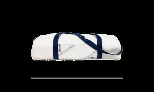 SailorBags 350WB Chesapeake Yoga Bag White with Blue Trim