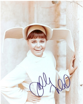 "Sally Field Autographed ""The Flying Nun"" 8"" x 10"" Photograph (Unframed)"