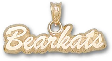 "Sam Houston State Bearkats ""Bearkats"" Pendant - 10KT Gold Jewelry"