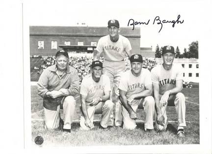 "Sammy Baugh New York Titans Autographed 8"" x 10"" Photograph (Unframed)"