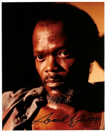 """Samuel L Jackson Autographed 8"""" x 10"""" Photograph (Unframed)"""