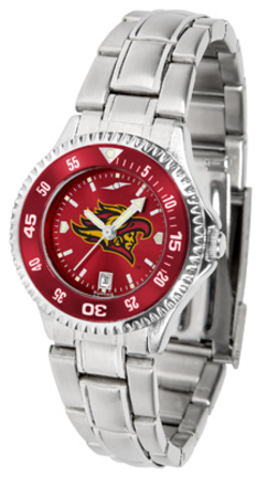 San Diego State Aztecs Competitor AnoChrome Ladies Watch with Steel Band and Colored Bezel
