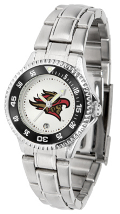 San Diego State Aztecs Competitor Ladies Watch with Steel Band