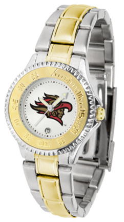 San Diego State Aztecs Competitor Ladies Watch with Two-Tone Band