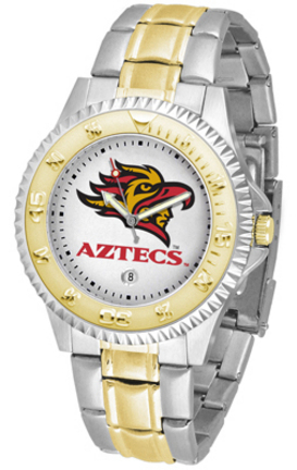 San Diego State Aztecs Competitor Two Tone Watch