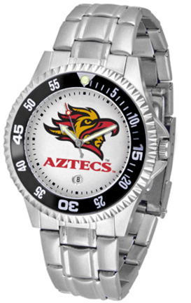 San Diego State Aztecs Competitor Watch with a Metal Band