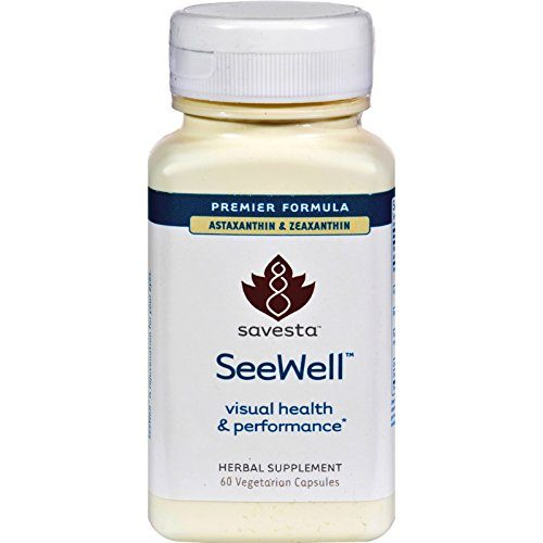 Savesta 1201565 Seewell Visual Health Vegetarian Capsules 60 Count