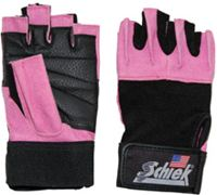 Schiek 520P Womens Gel Lifting Glove Pink Small