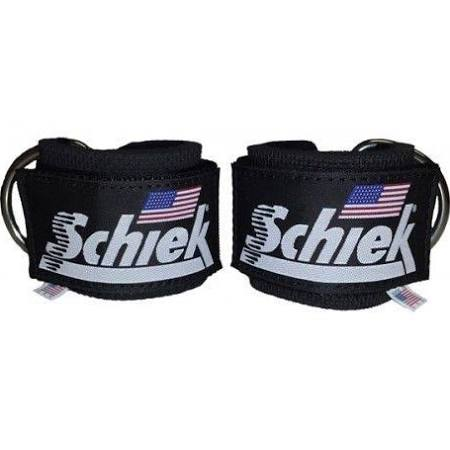 Schiek S-1700BK Ankle Straps Black