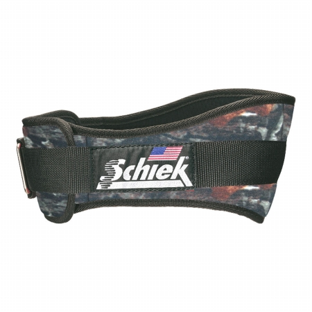 Schiek S-2004CAL 4.75 in. Original Nylon Belt, Camoflage - Large