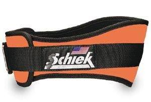 Schiek S-2004ORL 4.75 in. Original Nylon Belt, Orange - Large