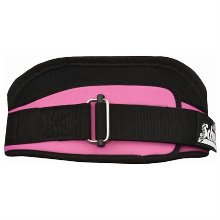 Schiek S-2006PKS 6 in. Original Nylon Belt Pink - Small