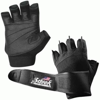 Schiek Sport 540-L Platinum Gel Lifting Glove with Wrist Wraps Large