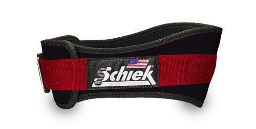 Schiek Sports 3004 4.75 in. Power Nylon Belt - L