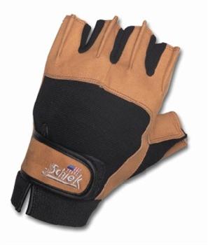 Schiek Sports H-415L Power Gel Lifting Gloves - L
