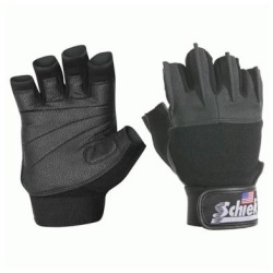 Schiek Sports H-520PS-M Pink Womens Gel Lifting Gloves - S-M