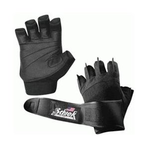 Schiek Sports H-540XS Platinum Gel Lifting Gloves with Wrist Wraps - XS