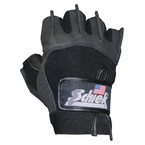 Schiek Sports H-715L Premium Gel Lifting Gloves - L