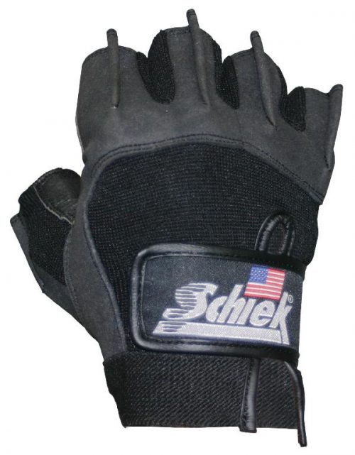 Schiek Sports H-715XL Premium Gel Lifting Gloves - XL