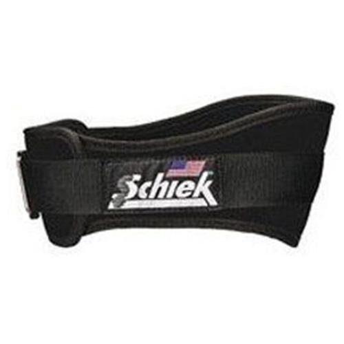 Schiek Sports S-2004BKM 4.75 in. Original Nylon Belt - M