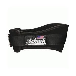 Schiek Sports S-2004PKM 4.75 in. Pink Womens Nylon Belt - M