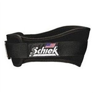 Schiek Sports S-2006BKS 6 in. Original Nylon Belt - S