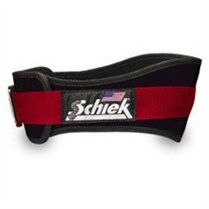 Schiek Sports S-3004BKL 4.75 in. Power Nylon Belt - L