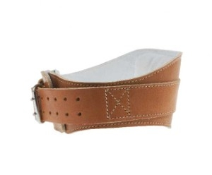 Schiek Sports S-5008 Leather Contour Dip Belt