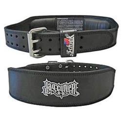Schiek Sports S-J2014L 4 in. Black Leather Jay Cutler Signature Belt-L