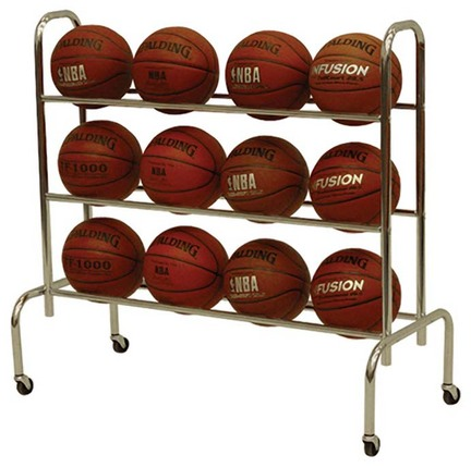 Scholastic Basketball Rack from Spalding