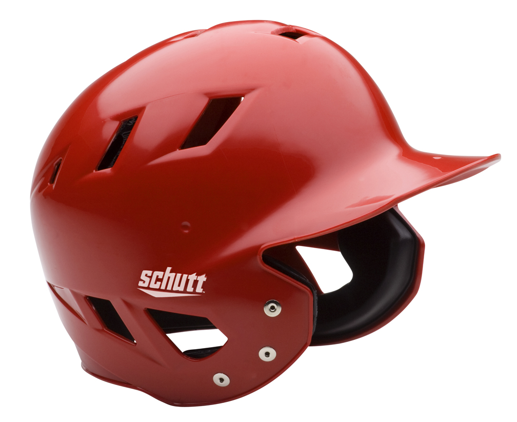 "Schutt AIR Maxx T Baseball Batting Helmets - ""Kandy Color"" Fitted (Set of 3)"