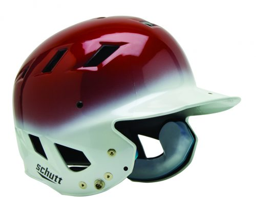 "Schutt AIR Maxx T Baseball / Softball Batting Helmets - ""Kandy Color"" Fitted (Set of 3)"