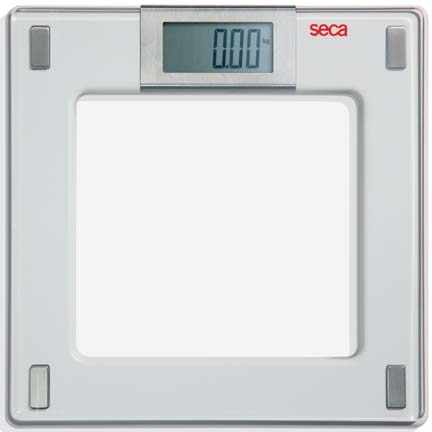 Seca 807 Aura Digital Floor Scale with Glass Platform