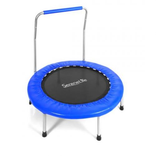 SereneLife SLSPT369 Sports Trampoline - Kid Size