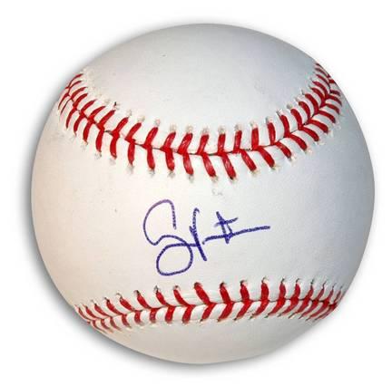 Shane Victorino Autographed Baseball