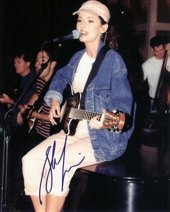 "Shania Twain Autographed 8"" x 10"" Photograph (Unframed)"