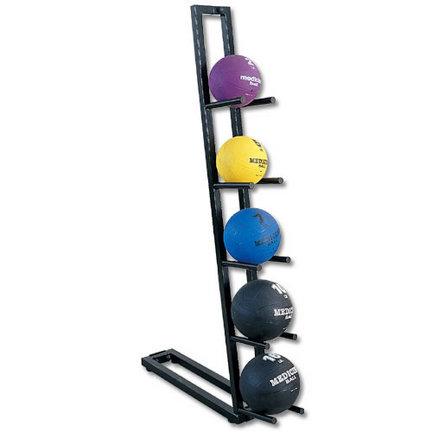 Single Sided Medicine Ball Rack (Holds 5 balls)