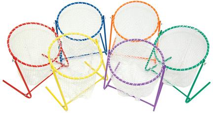 Six Color Golf Chip-In Target Net Set