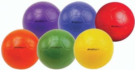 Soccer Balls from Rhino Skin (Set of 6)
