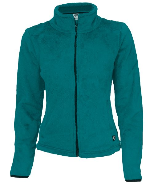 Soffe 1250V4EFMED Angel Fleece Mock Jacket for Junior Ocean Depths & Astral Aura - Medium