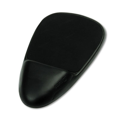 Softspot 90108 SoftSpot Mouse Pad with Wrist Rest Nonskid Base 7.5 x 13 Black