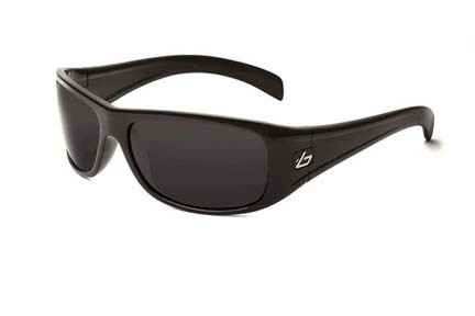 Sonar Fusion Collection Sunglasses (Shiny Black Frame and Polarized TNS Oleo AF Lenses) from Bolle